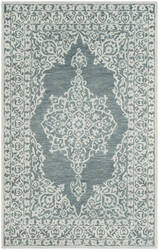 Safavieh Micro-Loop Mlp604m Blue - Light Blue Area Rug