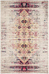 Rugstudio Sample Sale 155531R Ivory - Pink Area Rug