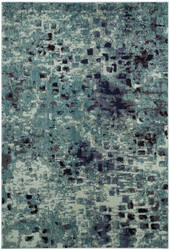 Safavieh Monaco Mnc225j Light Blue - Multi Area Rug