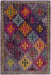 Safavieh Monaco Mnc244p Purple - Multi Area Rug