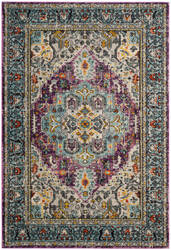 Safavieh Monaco Mnc251l Violet - Light Blue Area Rug