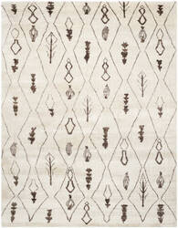 Safavieh Moroccan Mor331a Beige / Brown Area Rug