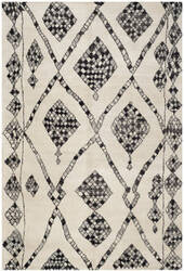 Safavieh Moroccan Mor553a Ivory / Black Area Rug