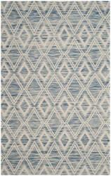 Safavieh Marbella Mrb312d Dark Blue - Ivory Area Rug