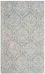 Safavieh Marbella Mrb405k Turquoise - Ivory Area Rug