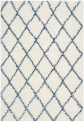 Safavieh Moroccan Shag Msg343c Ivory / Blue Area Rug