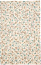 Safavieh Martha Stewart Msr1732c Milk Pail Blue Area Rug