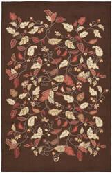Martha Stewart By Safavieh Msr3611 Autumn Woods B Area Rug