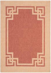 Safavieh Martha Stewart Msr4122a Terracotta - Beige Area Rug