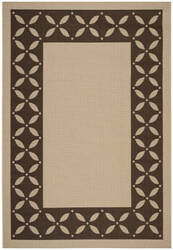 Safavieh Martha Stewart Msr4257 Cream - Chocolate Area Rug