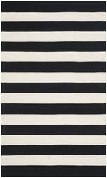 Safavieh Montauk Mtk712d Black / White Area Rug