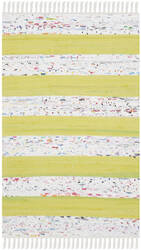 Safavieh Montauk Mtk720d Ivory - Light Green Area Rug