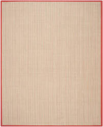 Safavieh Natural Fiber Nf442b Rust Area Rug