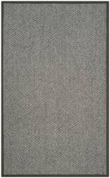 Safavieh Natural Fiber Nf464a Grey - Dark Grey Area Rug