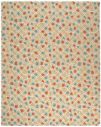 Safavieh Newport Npt426a Red - Blue Area Rug