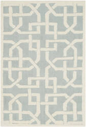 Safavieh Newport Npt441b Light Blue - White Area Rug