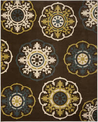 Safavieh Newbury Nwb8699 Brown / Green Area Rug