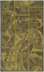 Safavieh Palazzo Pal121 Black - Green Area Rug