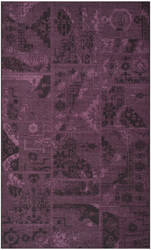 Safavieh Palazzo Pal121 Black - Purple Area Rug