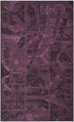 Safavieh Palazzo Pal121 Black - Purple Area Rug