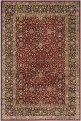 Safavieh Persian Garden Peg606r Red - Brown Area Rug