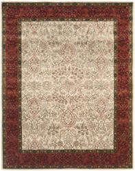 Safavieh Persian Legend PL533A Ivory / Rust Area Rug