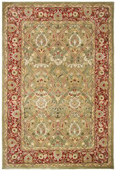 Safavieh Persian Legend PL819B Light Green - Rust Area Rug