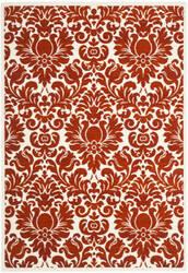 Safavieh Porcello Prl3714e Red / Ivory Area Rug