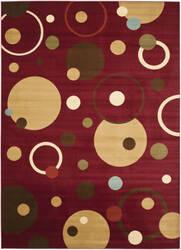 Safavieh Porcello Prl6851 Red / Multi Area Rug