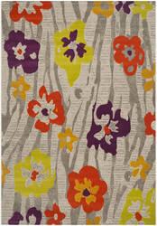 Safavieh Porcello Prl7730b Light Grey / Purple Area Rug