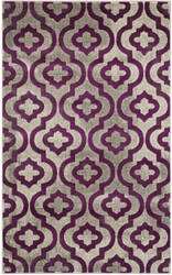 Safavieh Porcello Prl7734 Light Grey - Purple Area Rug