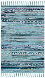 Safavieh Rag Rug Rar125c Turquoise - Multi Area Rug