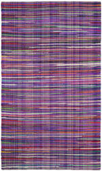 Safavieh Rag Rug Rar240c Purple - Multi Area Rug