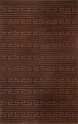 Ralph Lauren Hand Knotted Rlr4932c Evening Brown - Tonal Area Rug