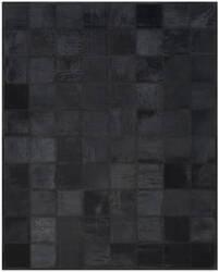 Ralph Lauren Natural Rlr5918d Jet Black Area Rug