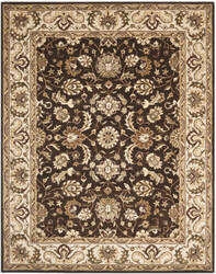 Safavieh Royalty ROY239A Chocolate / Beige Area Rug