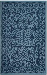 Safavieh Restoration Vintage Rvt102e Blue - Dark Blue Area Rug