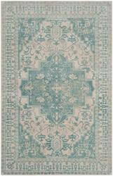 Safavieh Restoration Vintage Rvt421a Ivory - Turquoise Area Rug