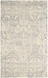 Safavieh Restoration Vintage Rvt532b Light Grey - Ivory Area Rug