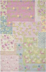 Safavieh Kids SFK321A Pink / Multi Area Rug