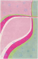 Safavieh Kids Sfk338a Green / Pink Area Rug