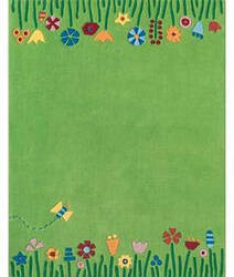 Safavieh Kids Sfk751a Green / Multi Area Rug