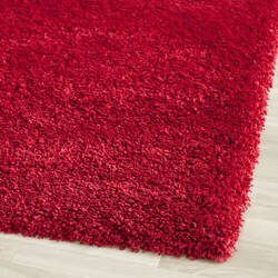Safavieh California Shag Sg151-4040 Red Area Rug