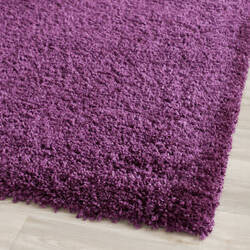 Safavieh California Shag Sg151-7373 Purple Area Rug