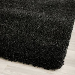 Safavieh California Shag Sg151-9090 Black Area Rug