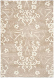 Safavieh Florida Shag Sg457-1311 Beige / Cream Area Rug