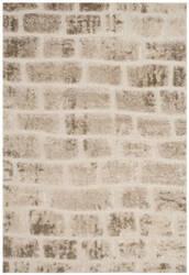 Safavieh Memphis Shag SG831T Taupe - Cream Area Rug