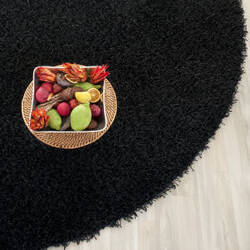 Safavieh Shag Sg851b Black Area Rug