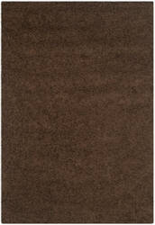 Safavieh Athens Shag Sga119a Brown Area Rug