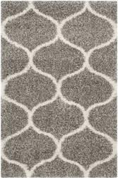 Safavieh Hudson Shag Sgh280b Grey - Ivory Area Rug